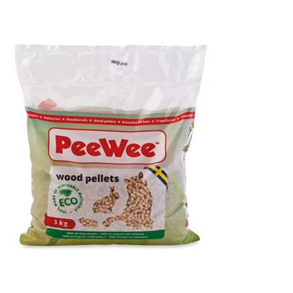 Bilde av PeeWee Wood Pellets ECO 3kg/5L